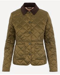 Barbour Deveron Quilted Jacket - Green