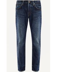 Edwin - Ed-55 Washed Blue Jeans - Lyst
