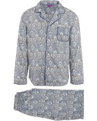Liberty - Hera Long Tana Lawn Cotton Pyjama Set - Lyst