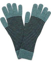 Jo Gordon - Lambswool Stripe Gloves - Lyst