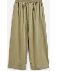 Eskandar Japanese Cotton-mix Pants - Multicolor