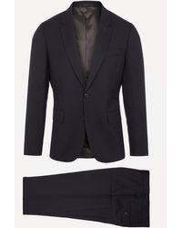 Paul Smith The Soho Wool Travel Suit - Blue
