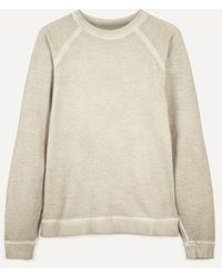 Folk Cold Dye Rivet Sweater - Natural