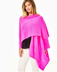 Lilly Pulitzer Terri Cashmere Wrap - Pink