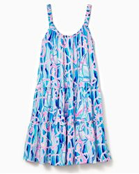 Lilly Pulitzer Loro Swing Dress - Blue