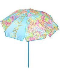 Lilly Pulitzer Beach Umbrella - Blue