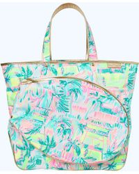 ab196f2b2e Lyst - Lilly Pulitzer Wanderlust Packable Travel Tote in Blue