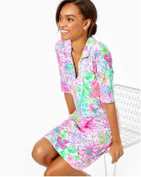 Lilly Pulitzer Upf 50+ Quincey Dress - Multicolor