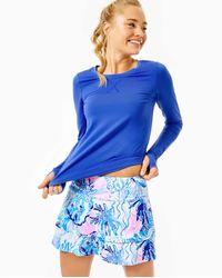 Lilly Pulitzer Upf 50+ Luxletic Adlai Skort - Blue
