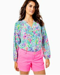 """Lilly Pulitzer 5"""" Callahan Stretch Short - Pink"""