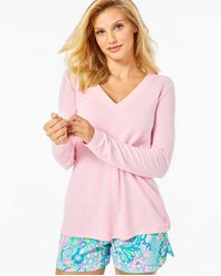 Lilly Pulitzer Luxletic Areli Pullover - Pink