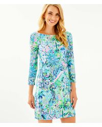 Lilly Pulitzer Upf 50+ Sophie Dress - Blue