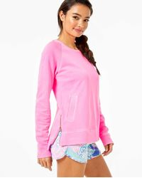 Lilly Pulitzer Luxletic Beach Comber Pullover - Pink