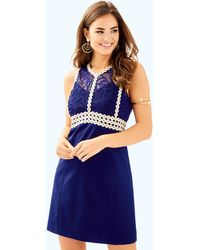 Lilly Pulitzer - Leigh Stretch Shift Dress - Lyst