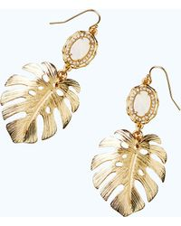 Lilly Pulitzer - Palm Earring - Lyst