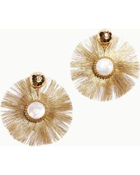 Lilly Pulitzer - Fan-tastic Earrings - Lyst