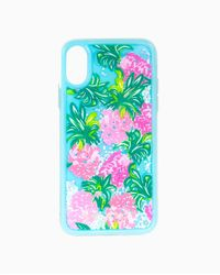 Lilly Pulitzer Glitter Iphone Case X/xs - Blue