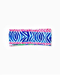Lilly Pulitzer Chillylilly Button Up Headband - Blue