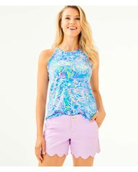 "Lilly Pulitzer - 5"" Buttercup Stretch Short - Lyst"