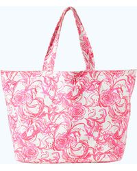 Lilly Pulitzer - Goop X Palm Beach Tote - Lyst
