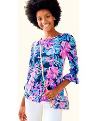 Lilly Pulitzer - Waverly Ruffle Top - Lyst