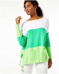 Lilly Pulitzer Westwood Coolmax Sweater - Green