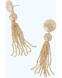 Lilly Pulitzer - Sand Dune Tassel Earrings - Lyst