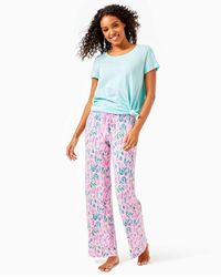 "Lilly Pulitzer 30"" Pj Knit Pant - Pink"