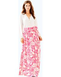Lilly Pulitzer - Goop X Lilly Maxi Skirt - Lyst