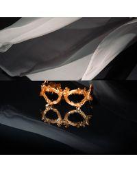 Jeremy Scott Flourish Sunglasses - Metallic