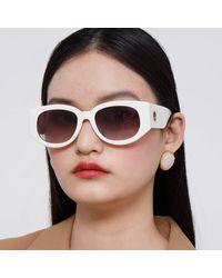 Linda Farrow - Debbie D-frame Sunglasses - Lyst