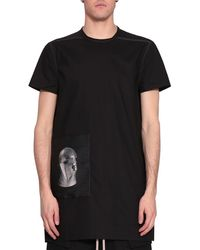 DRKSHDW by Rick Owens - Teth Cotton T-shirt - Lyst