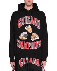 ih nom uh nit - Chicago Rings Cotton Hoodie - Lyst