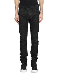 Boris Bidjan Saberi 11 - Stretch Denim Black Jeans - Lyst