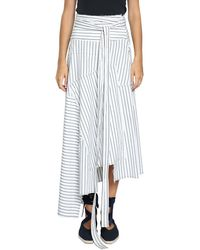 J.W.Anderson - Patchwork Cotton Skirt - Lyst