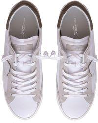 Philippe Model Sneakers in pelle - Bianco