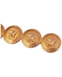Versace Fermaglio per capelli medusa placcato oro - Metallizzato