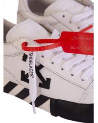 Off-White c/o Virgil Abloh Sneakers basse vulcanizzate - Rosso