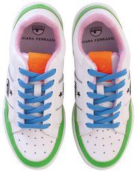 Chiara Ferragni Sneakers con dettagli in glitter - Blu