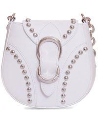 Orciani Beth Piuma Ball Bag - White