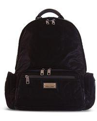 Dolce & Gabbana Logo-plaque Backpack - Black