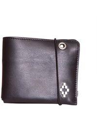 Marcelo Burlon County Of Milan Wings Bifold Wallet - Black