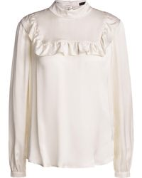 Little Soho Blouse Met Ruches Madame Wit