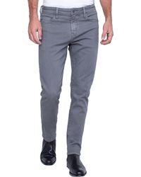 Liverpool Jeans Company Kingston Modern Slim Straight Colored Denim - Blue