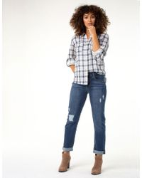 Liverpool Jeans Company - Peyton Slim Boyfriend Vintage Premium - Lyst