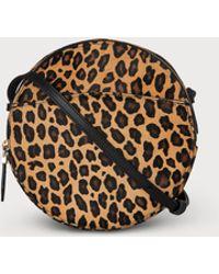 L.K.Bennett - Luna Leopard Print Calf Hair Shoulder Bag - Lyst