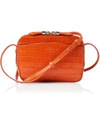 L.K.Bennett - Mariel Orange Shoulder Bag - Lyst