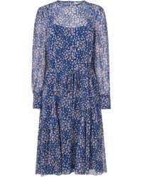 L.K.Bennett - Alisa Blue Dress - Lyst