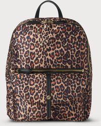 L.K.Bennett - Bridget Leopard Backpack - Lyst