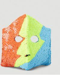 Walter Van Beirendonck Flash Mask - Yellow